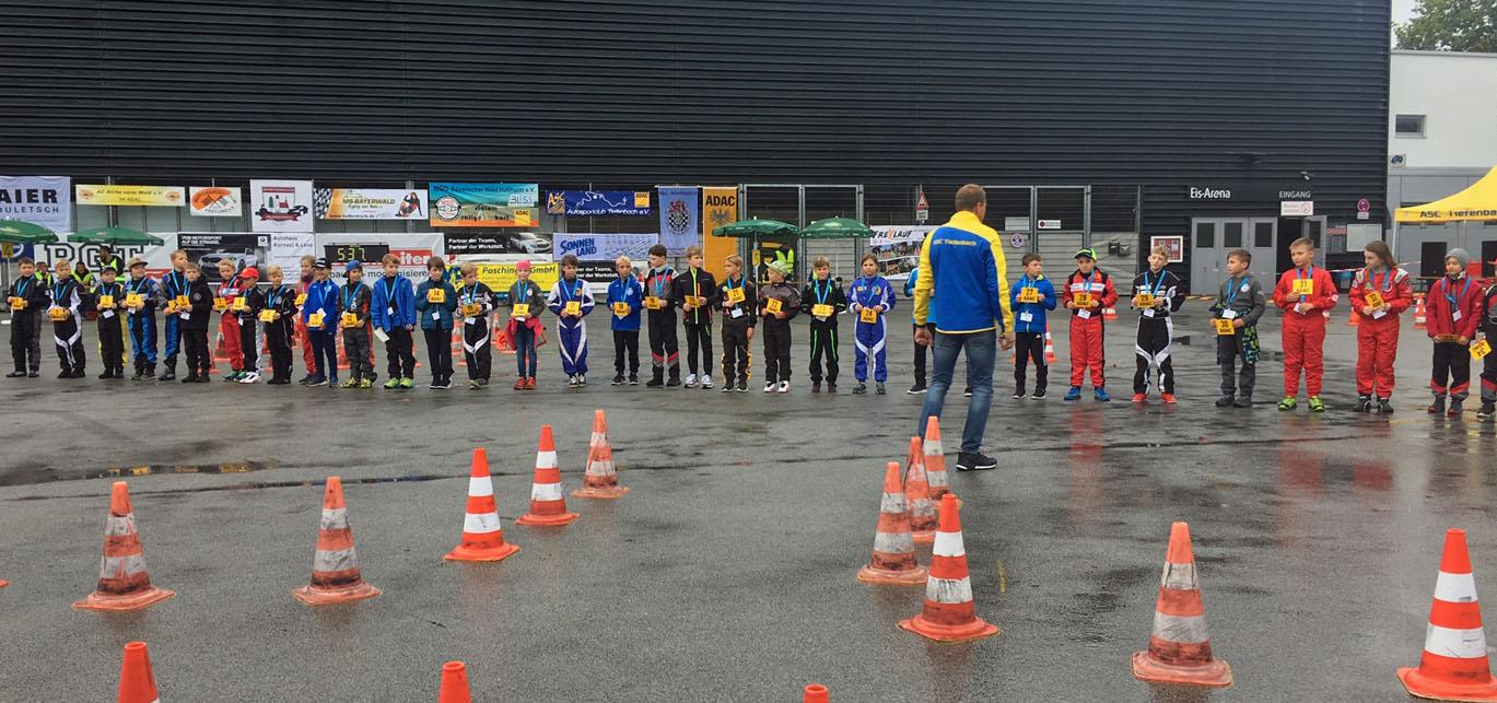 Bayerische Meisterscchaft Jugendkart-Slalom in Passau am 28./29.09.2019
