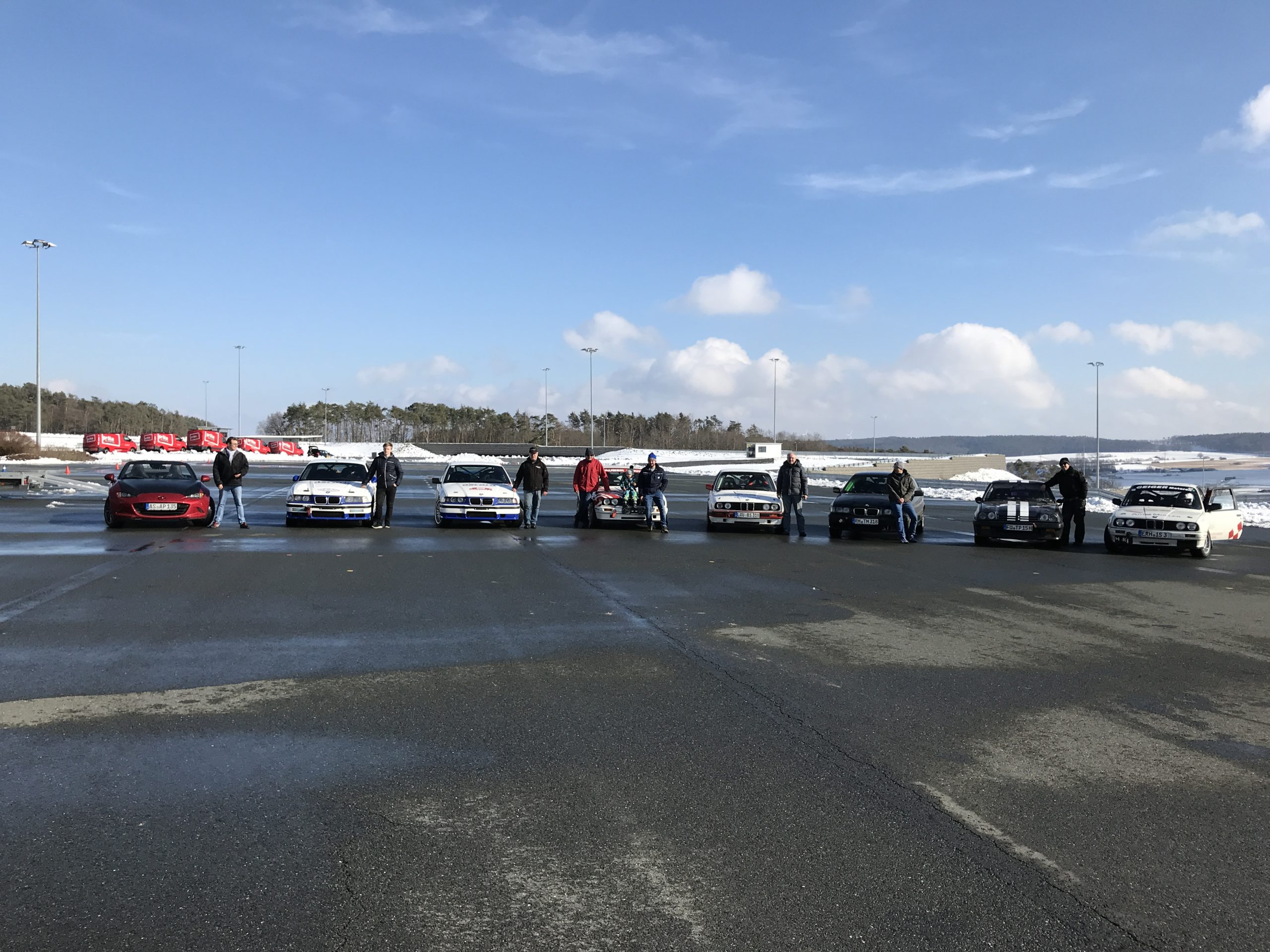 Test- und Einstellfahrten im Fahrsicherheitszentrum Schlüsselfeld